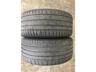 2 GOMAS 255-40-20 MICHELIN  Puerto Rico Import Tire