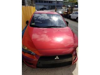 Mitsubishi Lancer 2013 en piezas Puerto Rico Junker Ramos Auto Piezas Inc.