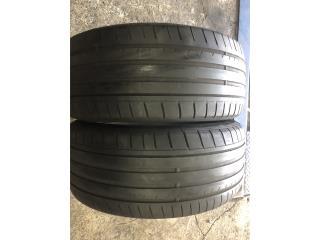 2 GOMAS 245-40-19 DUNLOP RUN FLAT Puerto Rico Import Tire