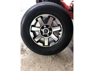"4 AROS 17"" TOYOTA RUNNER 2018 Puerto Rico Import Tire"