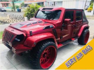 Bonetes, Bumper, Parrilla Jeep Wrangler  Puerto Rico Kery Air Bags And Body Parts
