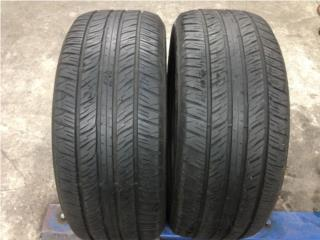 2 GOMAS 255/45/17 DUNLOP NITIDAS!!!! Puerto Rico Import Tire