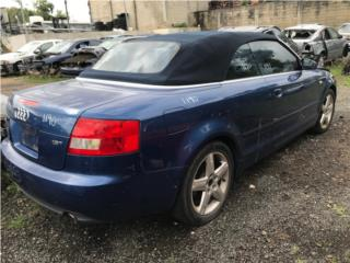 #1190 2005 Audi A4 1.8T Convertible Puerto Rico EURO JUNKER