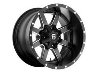 20x10 fuel wheels MAVERICK Puerto Rico COVER Y MAS COVER
