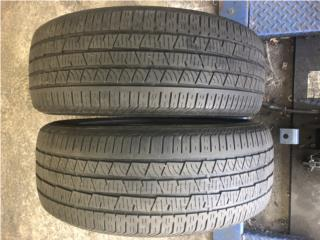 2 GOMAS 235-55-19 CONTINENTAL Puerto Rico Import Tire