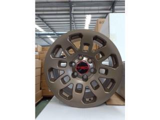AROS TRD PRO 2018 EN 20X9 BRONZE DISPONIBES!! Puerto Rico JJ Wheels and Tires