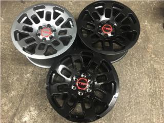 AROS TRD PRO 2018 TAMANO 17X8 NEGRO GLOSS Puerto Rico JJ Wheels and Tires