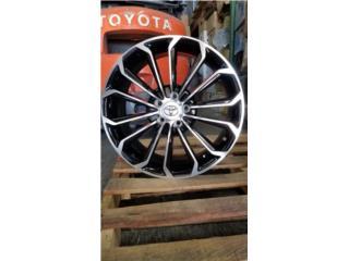 AROS TOYOTA COROLLA 2014 TAMANO 17X8 Puerto Rico JJ Wheels and Tires