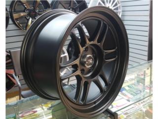 AROS JNC 021 TAMANO 18X9.5 (5-114) NEGRO MATT Puerto Rico JJ Wheels and Tires