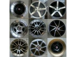 ESPECIAL KOMBAT WHEELS 15X7 & 15X8 (4 ROTOS) Puerto Rico JJ Wheels and Tires