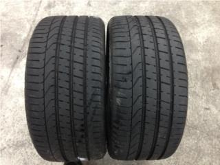 2 GOMAS 275/40/19 PIRELLI P ZERO Puerto Rico Import Tire