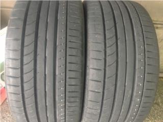 2 GOMAS 245/35/21 CONTINENTAL Puerto Rico Import Tire
