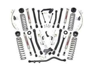 6'' JEEP X-SERIES SUSPENSION LIFT KIT  Puerto Rico COVER Y MAS COVER