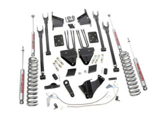 6'' FORD SUSPENSION LIFT KIT | 4-LINK (15-16  Puerto Rico COVER Y MAS COVER