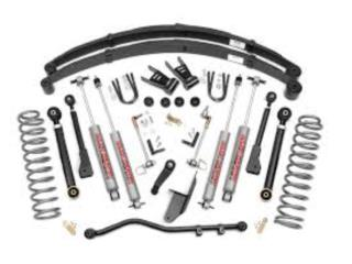 6.5IN JEEP X-SERIES SUSPENSION LIFT Puerto Rico COVER Y MAS COVER