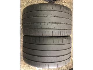 2 GOMAS 295-25-20 MICHELIN Puerto Rico Import Tire