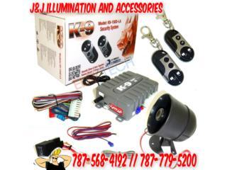 ALARMAS K9 DESDE SOLO $79.99 INSTALADAS Puerto Rico JJ illumination and Accessories