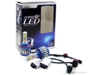 LUCES TURBO LEDS (9MIL LUMENS) 1año GARANTIA Puerto Rico JJ illumination and Accessories