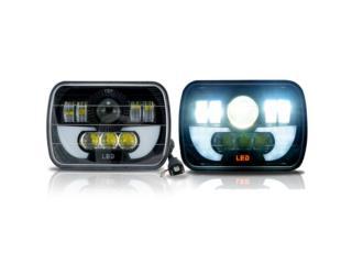FOCOS 5X7 FULL LED NEGROS CHEROKEE AMBULANCIA Puerto Rico JJ illumination and Accessories