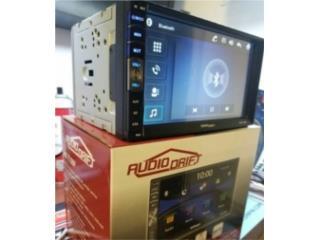 RADIO DDIN AUDIODRIFT BLUETOOH-AUX-USB(NO CD) Puerto Rico JJ illumination and Accessories