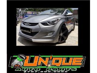 Front Lip Elantra 11-15 New Style Puerto Rico UNIQUE AUTO PARTS