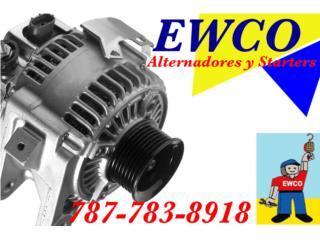 ALT MIT MIRAGE(4CYL) 98-02 GARANTIA Y ENVIO  Puerto Rico ALTERNADORES Y STARTERS EWCO