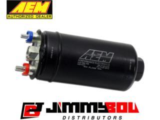 Bombas de gasolina AEM 380LPH de linea Puerto Rico JIMMY BOU DISTRIBUTORS