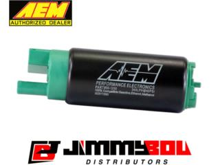 Bomba de Gasolina AEM Ethanol Compatible Puerto Rico JIMMY BOU DISTRIBUTORS