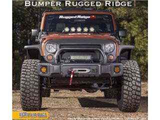 Bumper corto Rugged Ridge para wrangler Puerto Rico Kery Air Bags And Body Parts