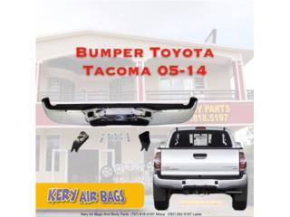Bumper trasero Tacoma 2005-2014 Puerto Rico Kery Air Bags And Body Parts