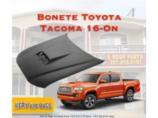 Bonete Tacoma 2016 con scoop  Puerto Rico Kery Air Bags And Body Parts