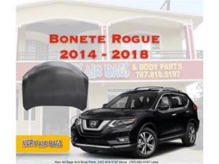 Bonete Rogue 2014-2018  Puerto Rico Kery Air Bags And Body Parts