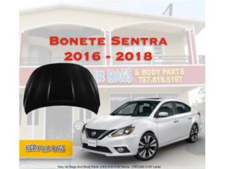 Bonete Nissan Sentra 2016-2018 Puerto Rico Kery Air Bags And Body Parts