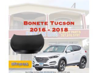 Bonete Tucson 2016-2018 Puerto Rico Kery Air Bags And Body Parts