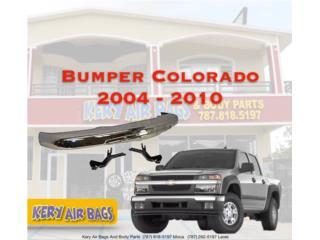 Bumper Cromado Chevrolet Colorado 2004-2010 Puerto Rico Kery Air Bags And Body Parts