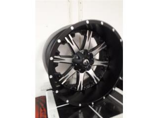 20x12 fuel wheels Puerto Rico COVER Y MAS COVER