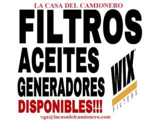 FILTROS PARA GENERADORES EN PUERTO RICO Puerto Rico  La Casa del Camionero