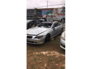 BMW 645 2005 Puerto Rico JUNKER EXPRESS