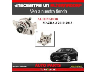 Alternador Mazda 3 2012-13 Puerto Rico Tu Re$uelve Auto Parts