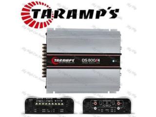 TARAMPS DS800X4 Puerto Rico JJ illumination and Accessories