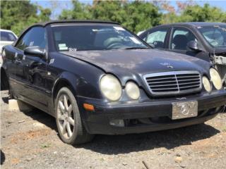 #808 1999 Mercedes-Benz CLK320  Puerto Rico EURO JUNKER