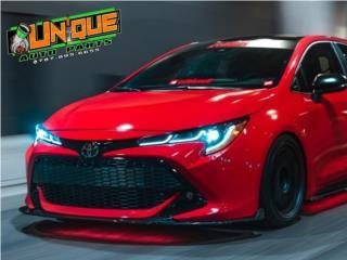 Front Lip Corolla Hatchback 19-20 Puerto Rico UNIQUE AUTO PARTS