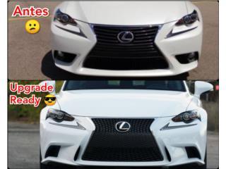 Conversion Bumper Sport Lexus 14-16 Puerto Rico UNIQUE AUTO PARTS
