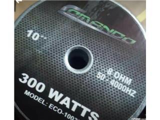 BOCINA COMANDO ECO-1003X 300W Puerto Rico JJ illumination and Accessories