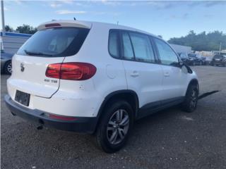 2013 Volkswagen Tiguan   (#1598)  Puerto Rico EURO JUNKER