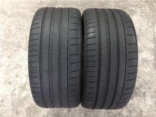 2 GOMAS 255/40/17 MICHELIN Puerto Rico Import Tire