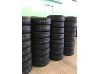 4 gomas usadas /225/60/17/ Bridgestone  Puerto Rico GOMERA ESPINAL