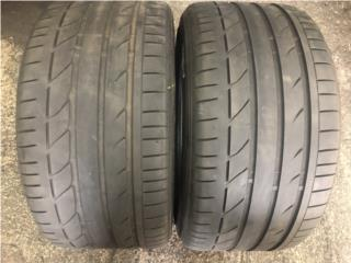 2 GOMAS 295-35-18 BRIDGESTONE POTENZA Puerto Rico Import Tire