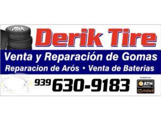185 60 14 incluye montura y balanceó  Puerto Rico Derik tire inc