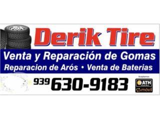 215 60 16 incluye montura y balanceó  Puerto Rico Derik tire inc
